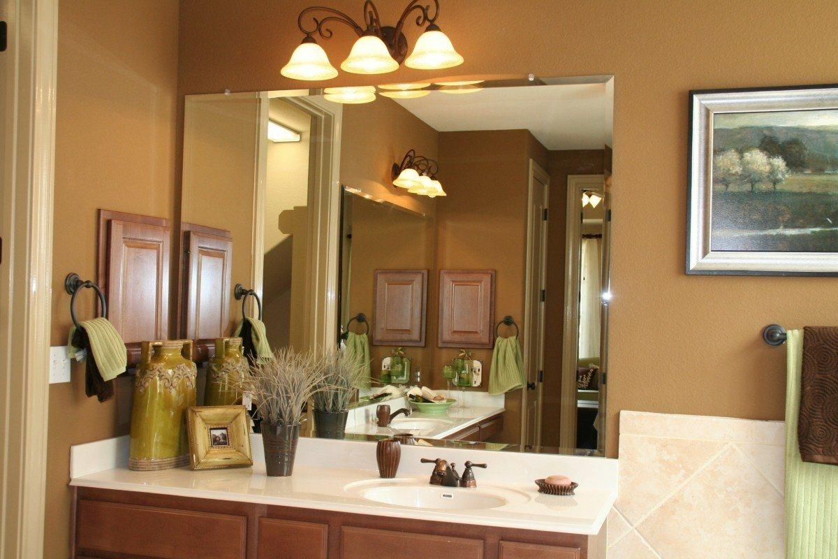 frameless beveled mirror. Mirrors: Amazing Unframed Mirror Frameless Home Depot Regarding Beveled Bathroom Mirrors (Image