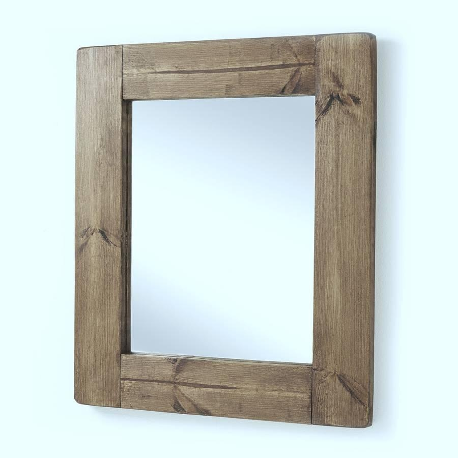 Featured Image of Vintage Wood Mirrors