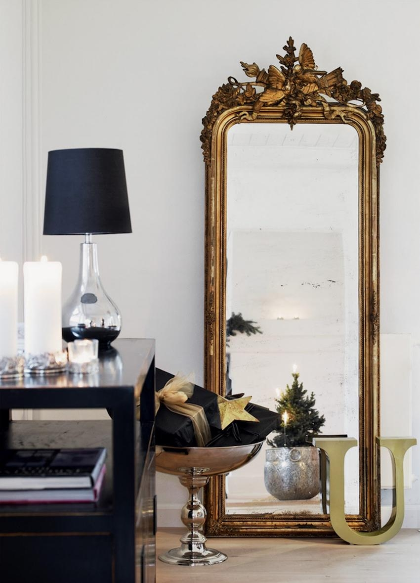 Mirrors: Glamorous Big Wall Mirrors Large Floor Mirror, Oversized Regarding Big Wall Mirrors (Image 16 of 20)