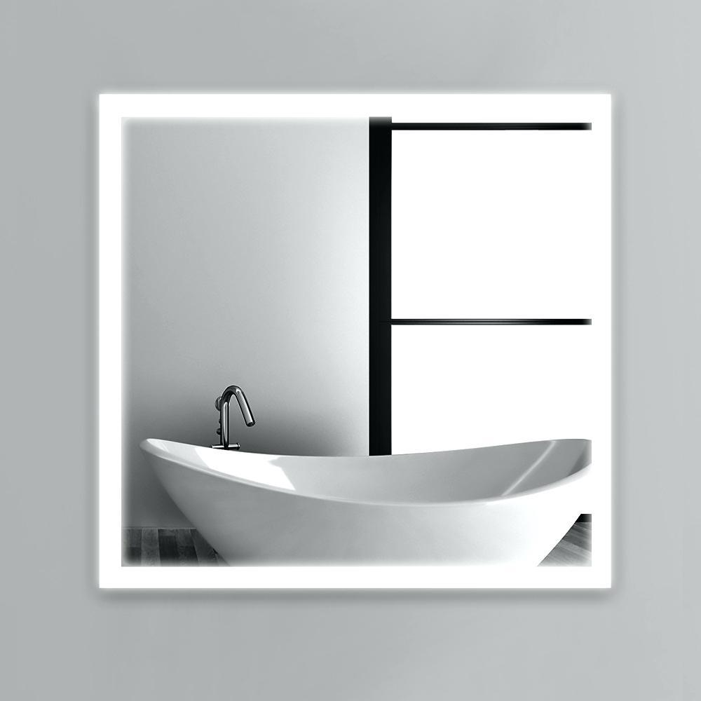 Mirrors : Lighted Frame Mirror Lighted Framed Mirror Wood Frame With Modern Framed Mirrors (View 10 of 20)