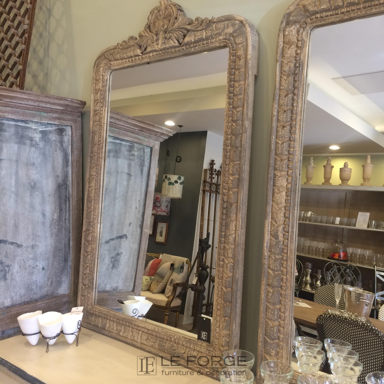 Mirrors : Shell Motif Timber Mirror Regarding Timber Mirrors (Image 11 of 20)