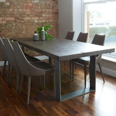 Modena Dining Table From Stock Inside Most Up To Date Grey Dining Tables (Image 15 of 20)