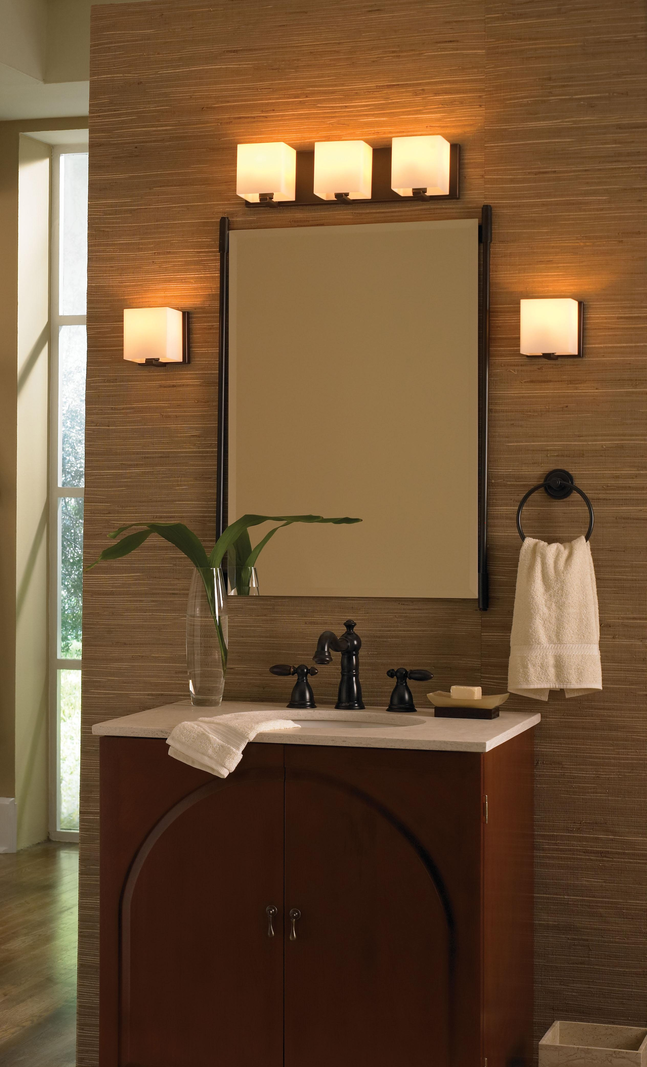 Modern Bathroom Lighting Bathroom Spotlights Bathroom Mirror Regarding Lights For Bathroom Mirrors (Image 16 of 20)