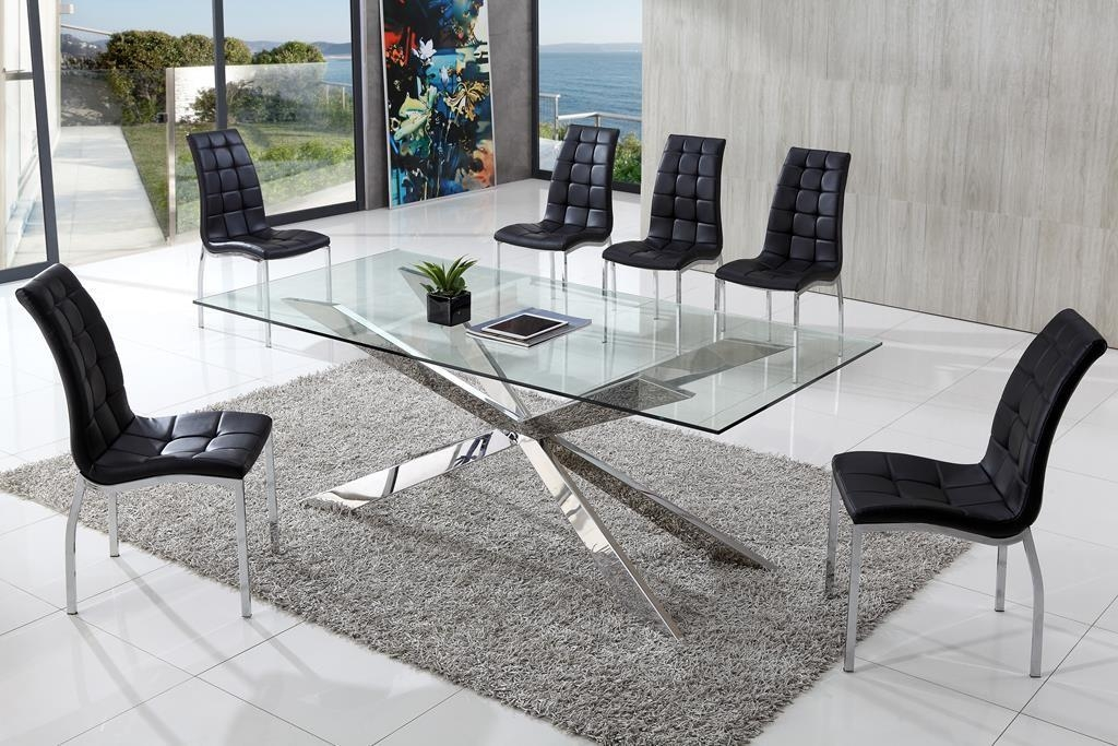 Modern Dining Table Design And Features Thementra In Best And Newest Glasses Dining Tables (Image 19 of 20)