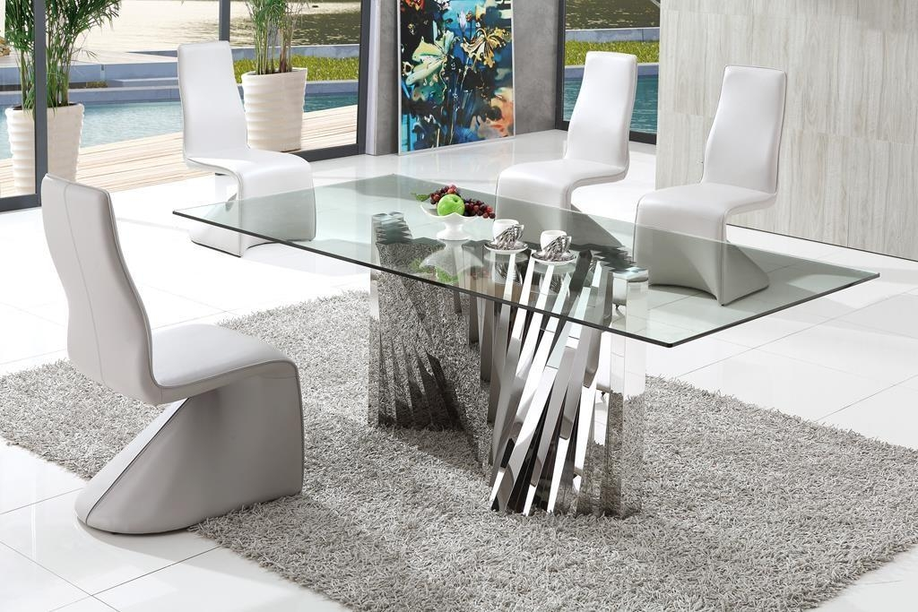 Modern Dining Table Design And Features Thementra With Regard To Most Recently Released Modern Dining Tables (Image 19 of 20)