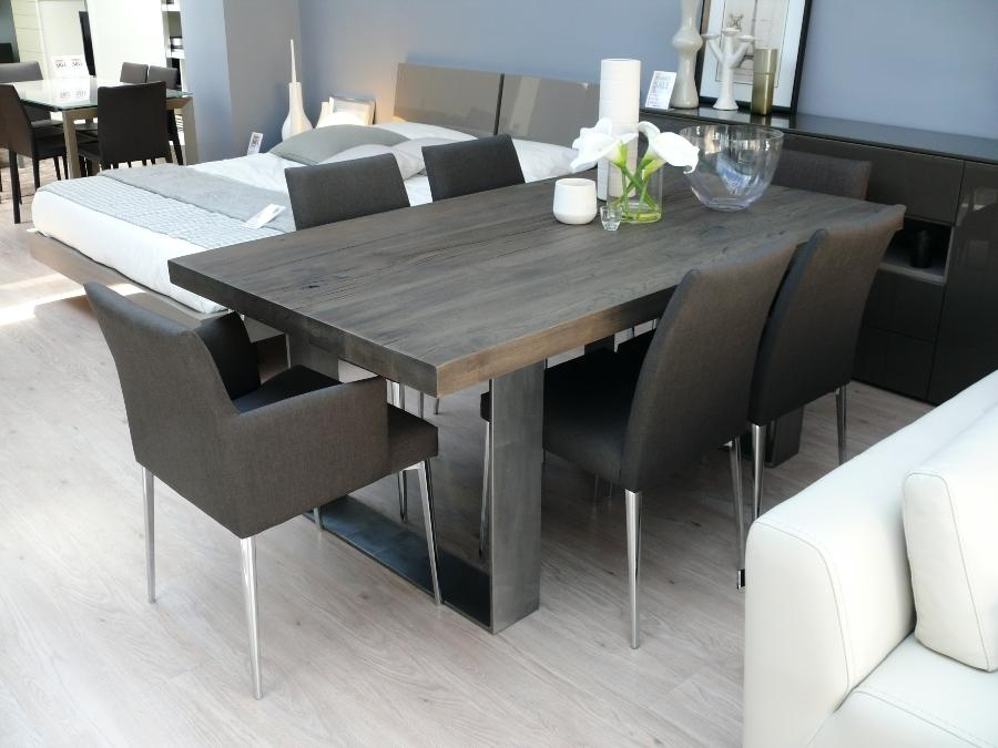 Modern Dining Table Sets | Fpudining In Most Recent Black Wood Dining Tables Sets (Image 14 of 20)