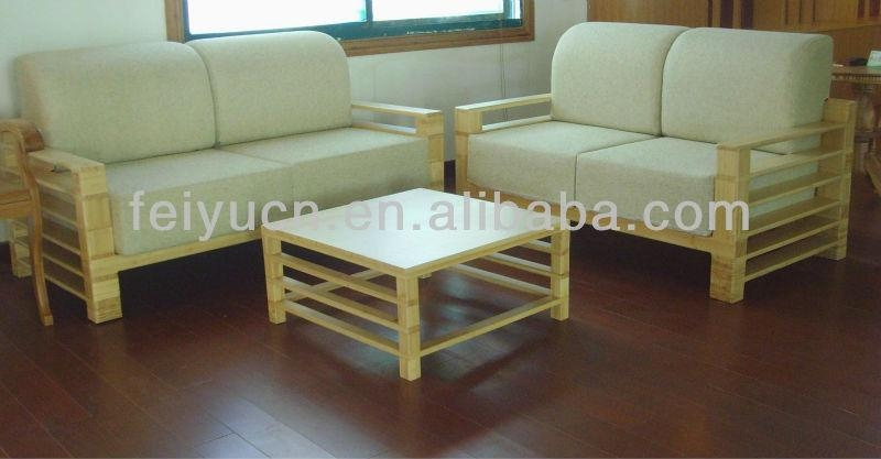 Modern Fashion Simple Design Bamboo Sofa Set – Buy Sofa Set,sofa With Regard To Bamboo Sofas (Image 16 of 20)