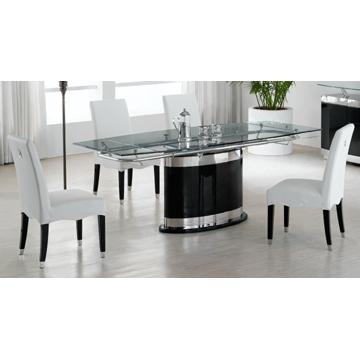 Modern Glass Dining Room Suite Dining Table And Chairs Dining Sets Within 2018 Modern Dining Suites (Image 17 of 20)