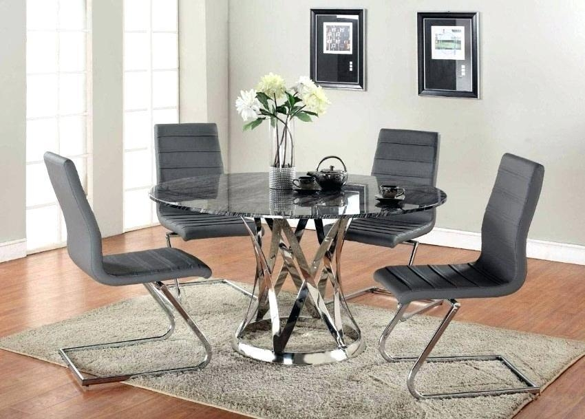 Modern Glass Dining Room Table – Mitventures (Image 18 of 20)