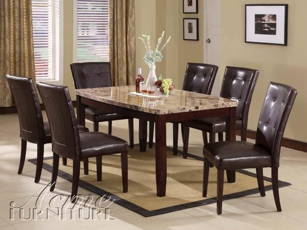 Modern Ideas Marble Dining Room Table Sets Excellent Design Marble With Marble Dining Tables Sets (View 2 of 20)