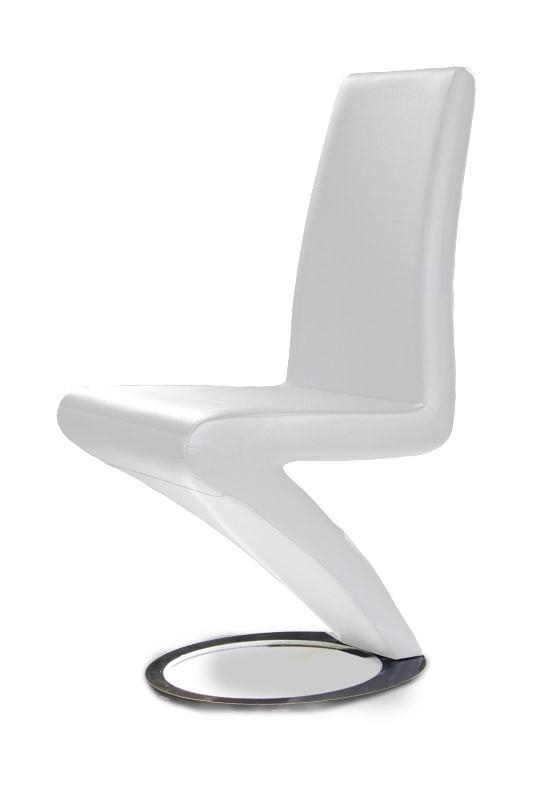Modern White Dining Chair (Set Of 2) Throughout Latest White Dining Chairs (Image 15 of 20)