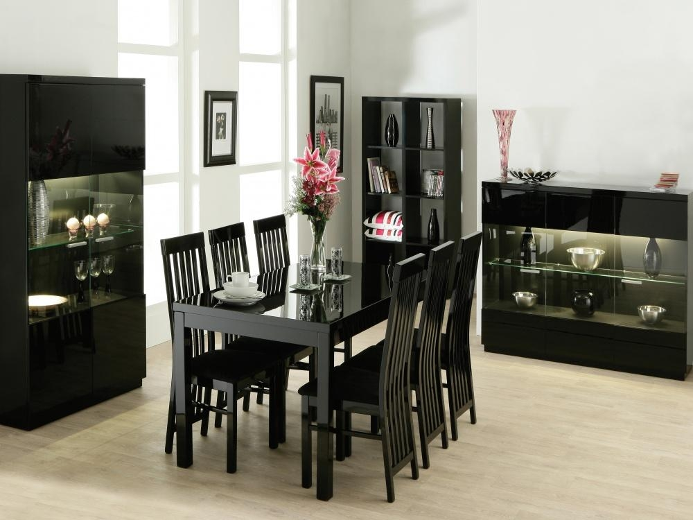 Modest Decoration Extendable Dining Table Set Fresh Inspirational Intended For Most Current Black Extendable Dining Tables And Chairs (Image 16 of 20)