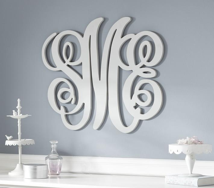 Monogram Wall Decor | Roselawnlutheran In Monogrammed Wall Art (Image 12 of 20)