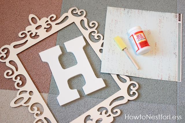 Monogrammed Wall Decor Images Of Photo Albums Monogram Wall Decor In Monogrammed Wall Art (Image 14 of 20)