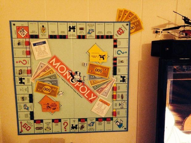 Monopoly Wall Art For Board Game Wall Art (Image 13 of 20)