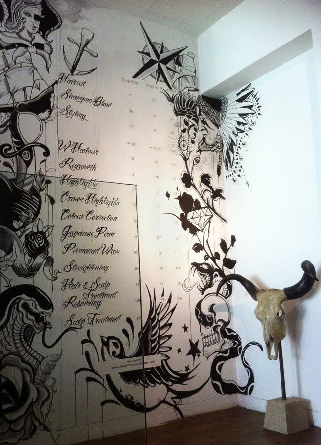 Moonstruck Tattoo: Wall Art In Tattoos Wall Art (Image 12 of 20)
