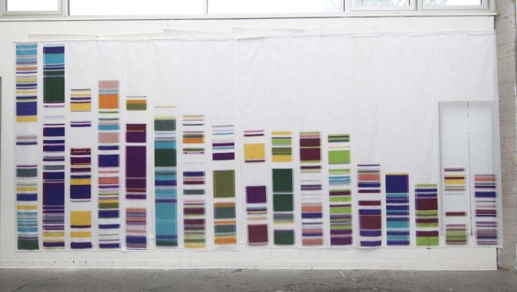 More Dna Inspired Art: Geraldine Ondrizek's Chromosome Painting Pertaining To Dna Wall Art (Image 20 of 20)