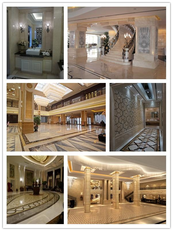 Moreroom Stone Design Beige Marble 3D Wall Tiles Cnc Carving With Regard To Italian Marble Wall Art (Image 9 of 20)