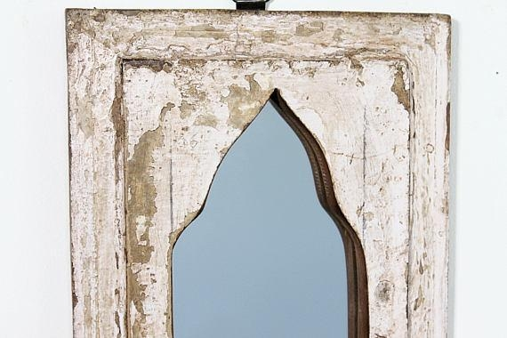 Moroccan Mirror Vintage Wood Framed Mirror Wood Wall Art With Regard To Turkish Wall Art (View 19 of 20)