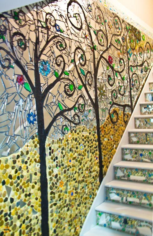 Mosaic Wall Art Photo In Mosaic Wall Art – Home Decor Ideas Pertaining To Diy Mosaic Wall Art (View 8 of 20)