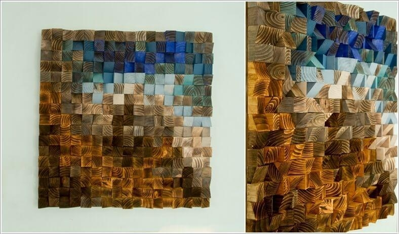 Mosaic Wall Design Inspiration Mosaic Wall Art – Home Decor Ideas With Regard To Diy Mosaic Wall Art (View 19 of 20)