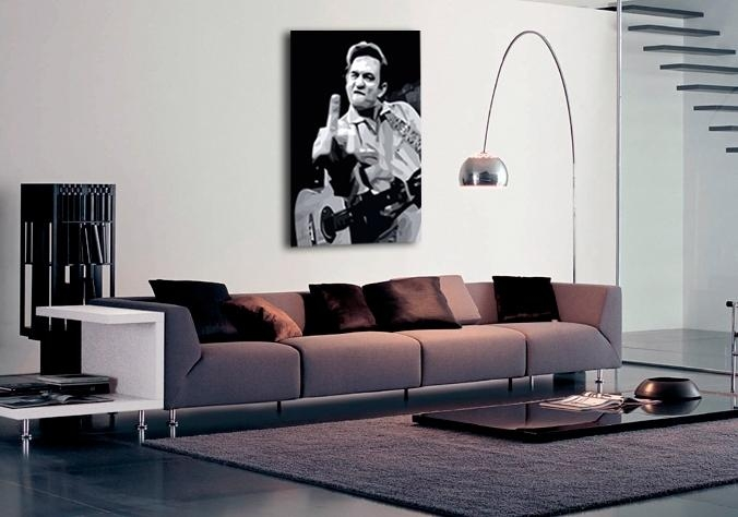 Music Johnny Cash Canvas Art|Buy Music Johnny Cash Canvas Artwork For Johnny Cash Wall Art (Image 17 of 20)