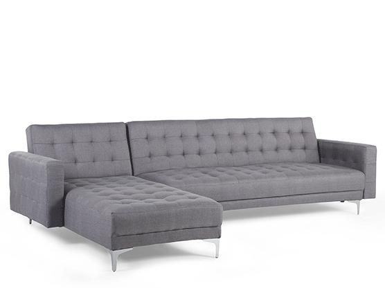 Narożnik Pikowany Simple Szary | Sofas \ Corners | Designerski With Regard To Simple Sofas (View 16 of 20)