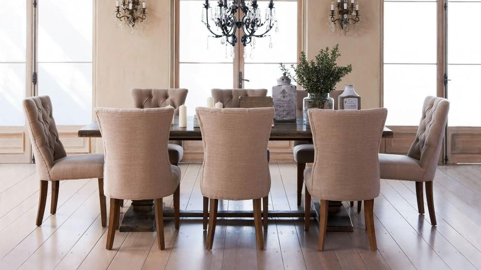 Nebraska 9 Piece Dining Setting – Dining Furniture – Dining Room Pertaining To Best And Newest Modern Dining Suites (Image 18 of 20)