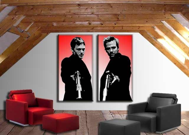 Need Some Suggestions For Wall Art In My Apartment (Srs Intended For Boondock Saints Wall Art (Image 15 of 20)