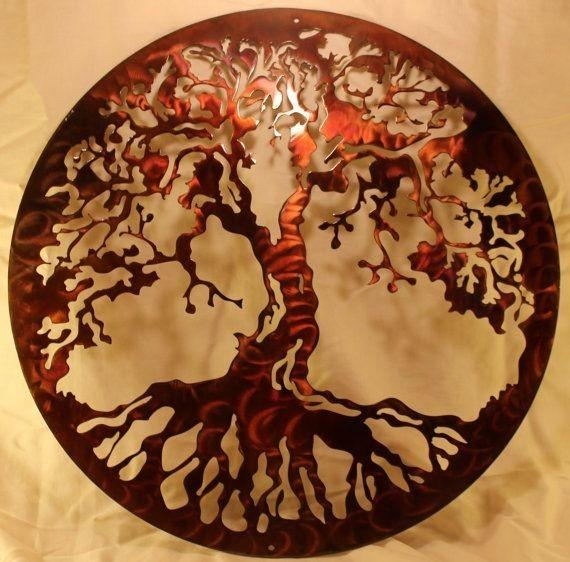 Never Miss This – – Handmade Tree Of Life Wall Decor For Your Pertaining To Tree Of Life Wall Art Stickers (Photo 9 of 20)