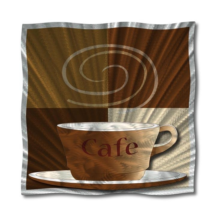 New Coffee Theme Metal Wall Art Featured At Modern Coffee Designs Within Metal Wall Art Coffee Theme (Photo 15 of 20)