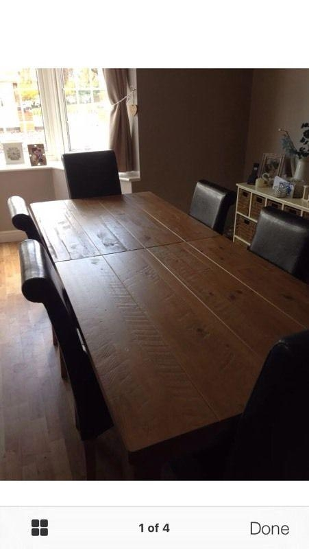 Next Hudson Dining Table Ex Condition | In Orpington, London | Gumtree With Regard To 2017 Next Hudson Dining Tables (View 10 of 20)
