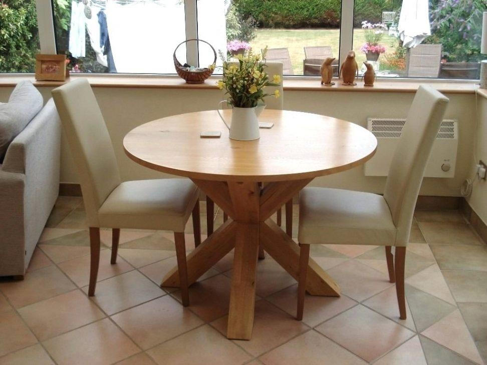 Next Hudson Round Dining Table Light Oak Superb Condition Modus With Regard To Most Popular Next Hudson Dining Tables (Image 18 of 20)