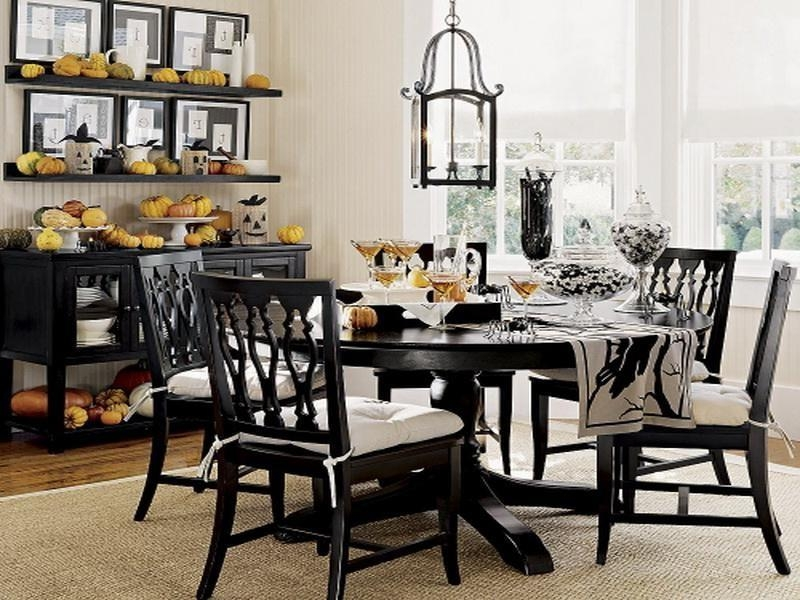 Nice Black Dining Room Chairs Elegant Black Dining Table Set The Inside Best And Newest Black Dining Tables (Image 19 of 20)