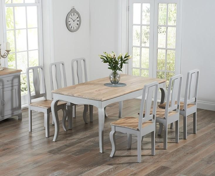 Nice Grey Dining Table And Chairs On Interior Decor Home Ideas Inside 2018 Dining Tables Grey Chairs (Image 20 of 20)