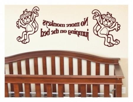 No More Monkeys Jumping On The Bed Wall Art – Lampe : Wall Art In With Regard To No More Monkeys Jumping On The Bed Wall Art (Image 11 of 20)