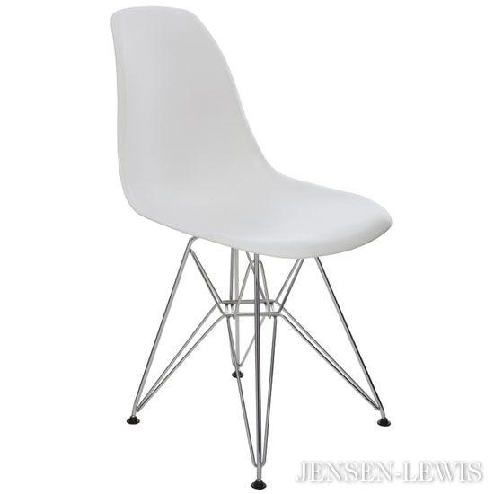 Nuevo Max White Plastic Dining Chair Hgzx217 | Jensen Lewis New With Regard To Most Current White Dining Chairs (Image 18 of 20)