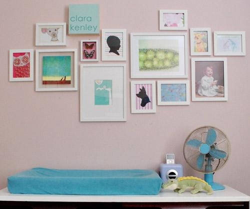 Nursery Art Expansion: How Our Gallery Wall Is Growing | Young In Nursery Framed Wall Art (Image 12 of 20)