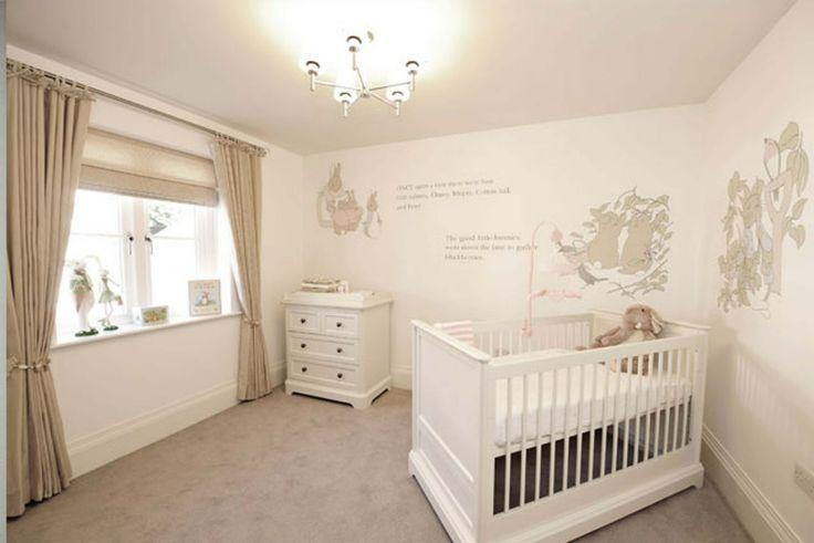 Nursery Room Stencils Uk | Affordable Ambience Decor Throughout Peter Rabbit Nursery Wall Art (View 6 of 20)