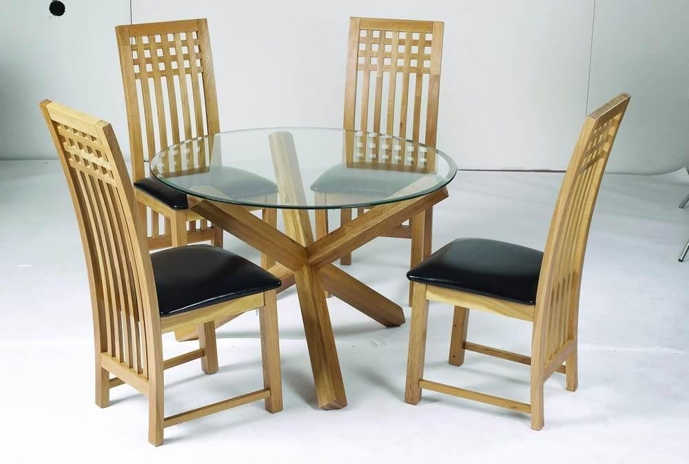 Oak Dining Sets (View 16 of 20)