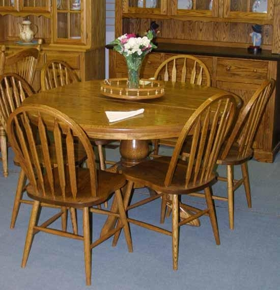 Oak Dining Table Chairs I92 On Lovely Furniture Home Design Ideas In Best And Newest Oak Dining Tables And Chairs (View 16 of 20)