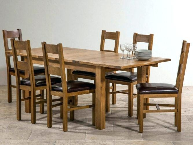 Oak Dining Tables And Chairs – Mitventures (Image 17 of 20)