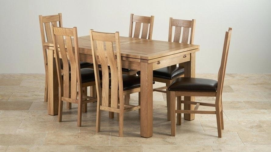 Oak Dining Tables And Chairs – Mitventures (View 8 of 20)