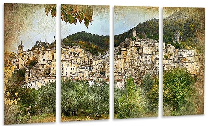 Old Italian Villages – Landscape Photography Metal Wall Art | Groupon Intended For Old Italian Wall Art (Image 11 of 20)