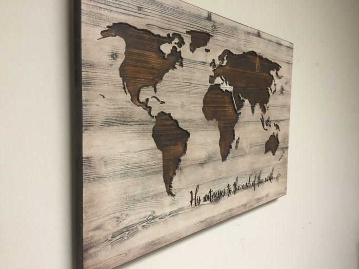 Old World Map Cool Map Wall Art – Home Decor Ideas Regarding Old World Map Wall Art (Image 10 of 20)