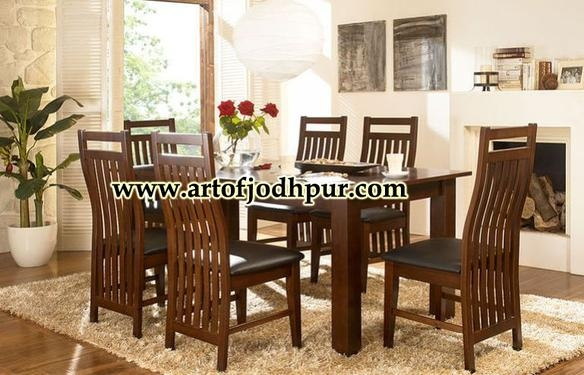 Online Furniture Sheesham Wood Dining Set – Used Dining Table For Inside Newest Sheesham Wood Dining Chairs (Image 12 of 20)