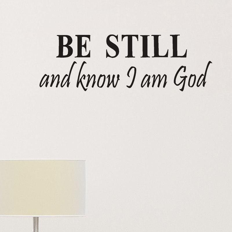 Online Get Cheap Be Still God  Aliexpress | Alibaba Group Throughout Be Still And Know That I Am God Wall Art (Image 13 of 20)