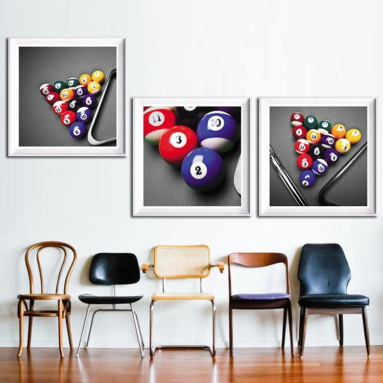 Online Get Cheap Billiards Posters Aliexpress | Alibaba Group Inside Billiard Wall Art (View 20 of 20)