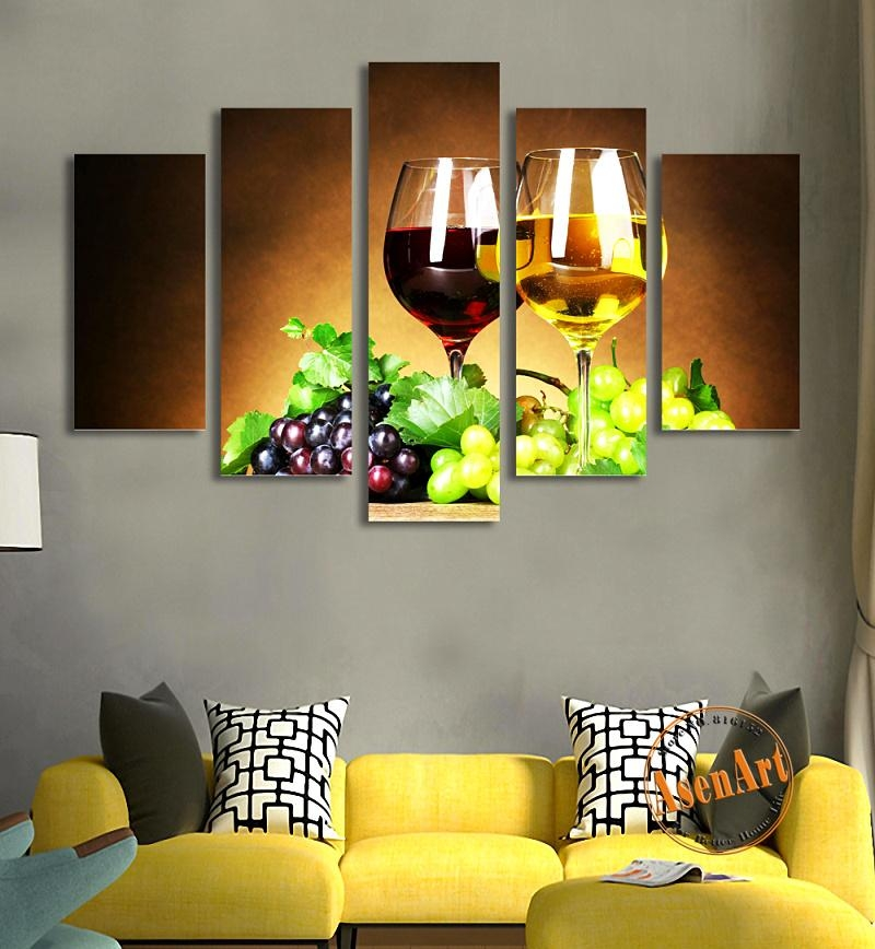 Online Get Cheap Grape Wall Art Aliexpress | Alibaba Group Intended For Metal Grape Wall Art (View 13 of 20)