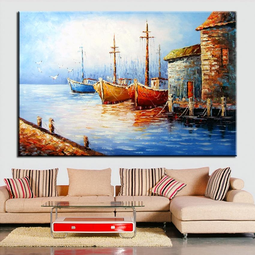 Online Get Cheap Italian Village  Aliexpress | Alibaba Group With Regard To Cheap Italian Wall Art (Image 5 of 20)